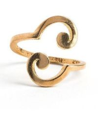 ALEX AND ANI - A Wrinkle In Time Spiral Ring - Lyst