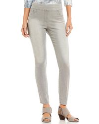 Ruby Rd. - Pull-on Extra Stretch Colored Denim Jeans - Lyst