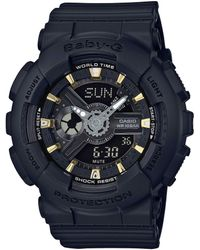 G-Shock - Baby-g Black Resin Ana-digi Watch - Lyst