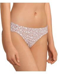 Cremieux - Ditsy Floral Tab Side Swimsuit Bottom - Lyst