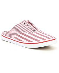 Lauren by Ralph Lauren - Jaida Stipe Slip-on Sneakers - Lyst