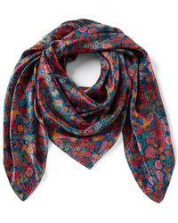 Antonio Melani - Made With Liberty Fabrics Ciara Square Silk Scarf - Lyst