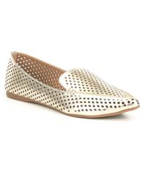 Steve Madden - Feather Perforated Flats - Lyst
