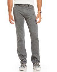 Vince Camuto - Slim-fit 5-pocket Stretch Flat Front Pants - Lyst
