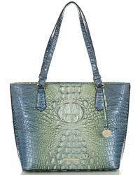 Brahmin - Melbourne Collection Medium Misha Crocodile-embossed Tote Bag - Lyst