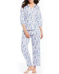 Karen Neuburger - Ditsy Floral Pajamas - Lyst