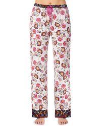 Kensie - Floral Printed Jersey Sleep Pants - Lyst