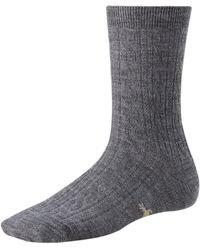 Smartwool Cable Ii Sock - Gray