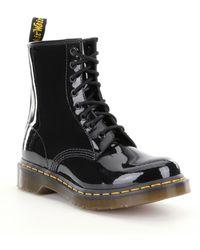 Dr. Martens 1460 Women's Combat Boots - Black
