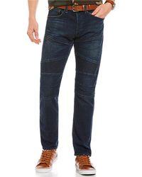 Polo Ralph Lauren | Sullivan Slim-fit Stretch Denim Moto Jeans | Lyst