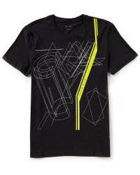 CALVIN KLEIN 205W39NYC - Thin Linear Logo Short-sleeve Tee - Lyst