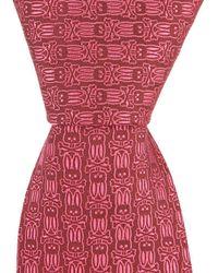 Psycho Bunny - Multi Bunny Traditional Silk Tie - Lyst
