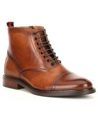 Steve Madden - Men's Ketonic Leather Moto Boot - Lyst