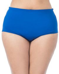 La Blanca - Plus High-waist Bottom - Lyst