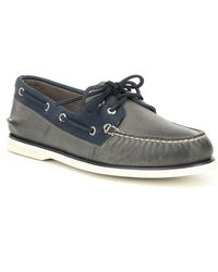 Sperry Top-Sider - Men's Gold Authentic Original 2-eye Roustabout Boat Shoes - Lyst