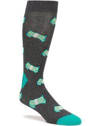 K. Bell - Novelty Fun Money Crew Socks - Lyst