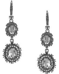 Marchesa - Double Drop Earrings - Lyst