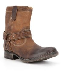 Bed Stu - Roan Men ́s Colton Distressed Leather Boot - Lyst