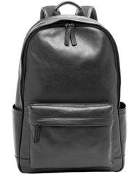 Fossil - Buckner Leather Laptop Backpack - Lyst
