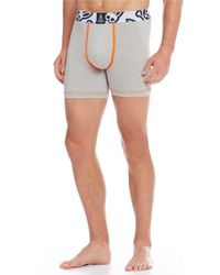 Psycho Bunny Cool Colours Boxer Briefs 2-pack - Gray
