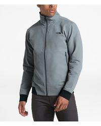 The North Face Tekno Ridge Full Zip Windwall® Jacket - Gray