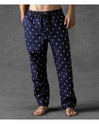 Polo Ralph Lauren - Big Tall Allover Pony Sleep Pants - Lyst