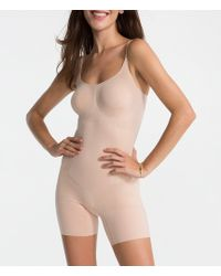 Spanx - Oncore Mid-thigh Shapesuit - Lyst