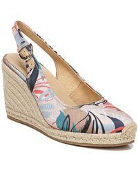 Naturalizer Pearl Espadrille Wedge Sandal - Multicolour