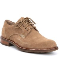 Sperry Top-Sider - Men's Annapolis Suede Plain Toe Oxford - Lyst