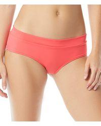 Coco Rave Say Anything Slater Boyshort Bikini Swimsuit Bottom - Multicolor