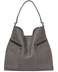 Botkier - Trigger Pebbled Leather Hobo - Lyst