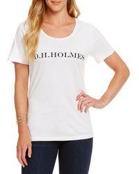 Heritage - D. H. Holmes Logo Tee - Lyst