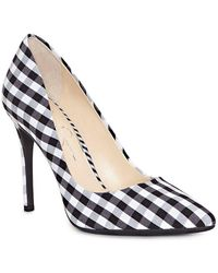 Jessica Simpson - Praylee Gingham Pointy Toe Pumps - Lyst