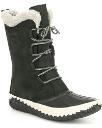 Sorel - Out N About Tall Plus Faux Fur Lining Waterproof Boots - Lyst