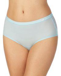 Le Mystere Infinite Comfort Brief Panty - Blue