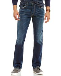 Silver Jeans Co. - Eddie Relaxed Tapered-fit Jeans - Lyst