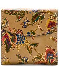 Patricia Nash French Tapestry Collection Reiti Floral Leather Wallet - Multicolour