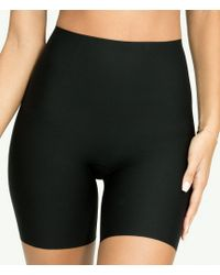Spanx Thinstincts Shaping Mid-thigh Shorts - Black