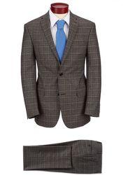 Murano - Slim Fit Neat Wool Suit - Lyst