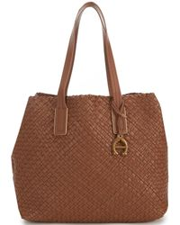 Etienne Aigner - Irena Woven Tote - Lyst