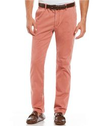 Tommy Bahama - Boracay Flat-front Stretch Sateen Pants - Lyst
