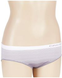 CALVIN KLEIN 205W39NYC - Seamless Illusions Hipster Panty - Lyst