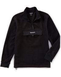 Timberland - Polar Fleece Quarter-zip Pullover - Lyst