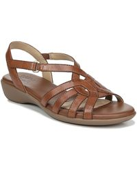469669512e3c9 Naturalizer - Nalani Casual Leather Backstrap Sandals - Lyst