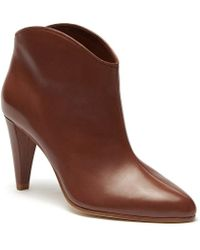 Etienne Aigner - Seville Leather Booties - Lyst