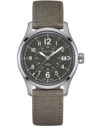 Hamilton - Khaki Field Mechanical Automatic Watch - Lyst
