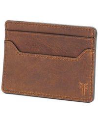 Frye - Logan Money Clip Card Case - Lyst