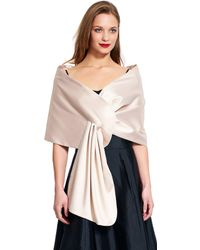 Adrianna Papell - Satin Wrap - Lyst