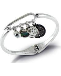 Lucky Brand - Celestial Charm Hinge Bracelet - Lyst