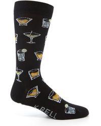 K. Bell - Cocktails Crew Socks - Lyst